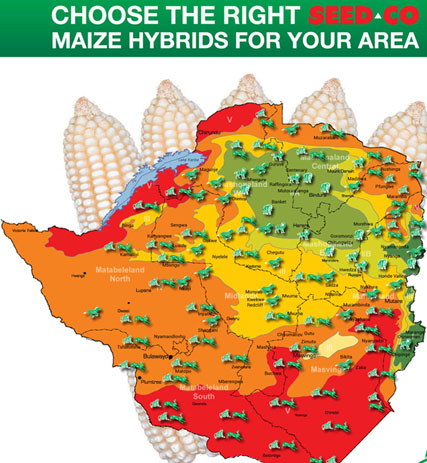 Farming Regions Zimbabwe