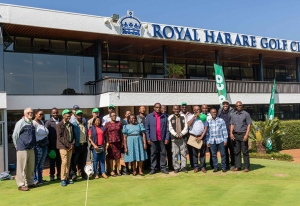Group picture at Royal Golf Club